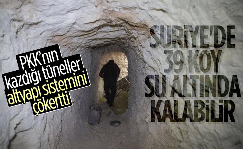 PKK'nın tünelleri baraj faciasına davetiye çıkarıyor