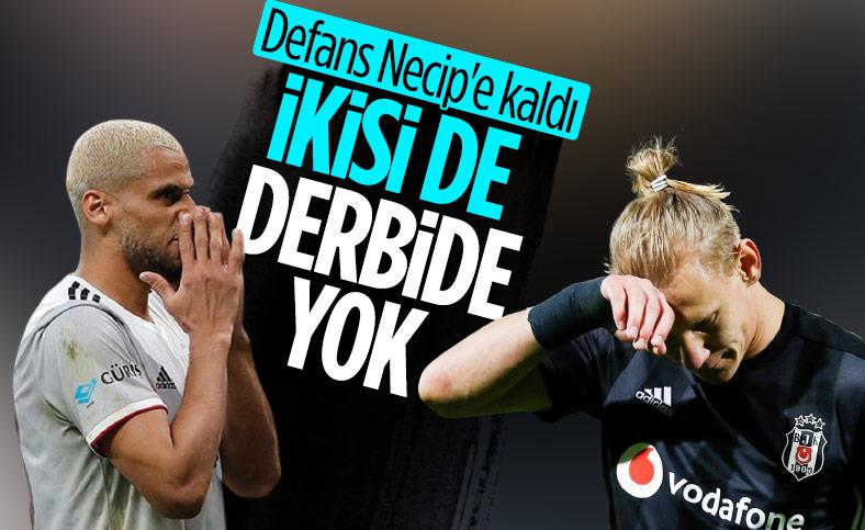 Welinton ve Vida Fenerbahçe derbisinde yok