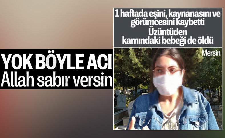Mersin'de ailesi virüsten ölen kadın, bebeğini de kaybetti