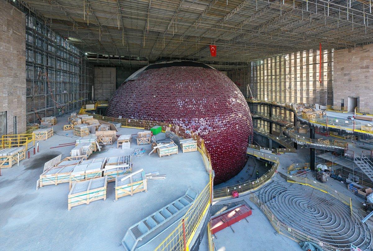 Yeni Atatürk Kültür Merkezi inşaatının yüzde 78 i tamamlandı #7