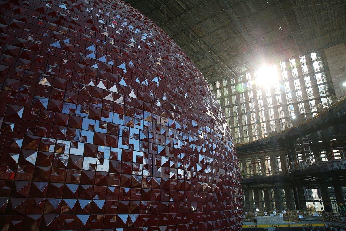Yeni Atatürk Kültür Merkezi inşaatının yüzde 78 i tamamlandı #10