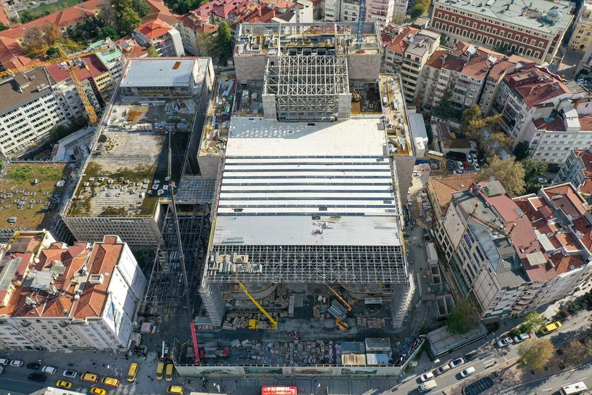 Yeni Atatürk Kültür Merkezi inşaatının yüzde 78 i tamamlandı #2
