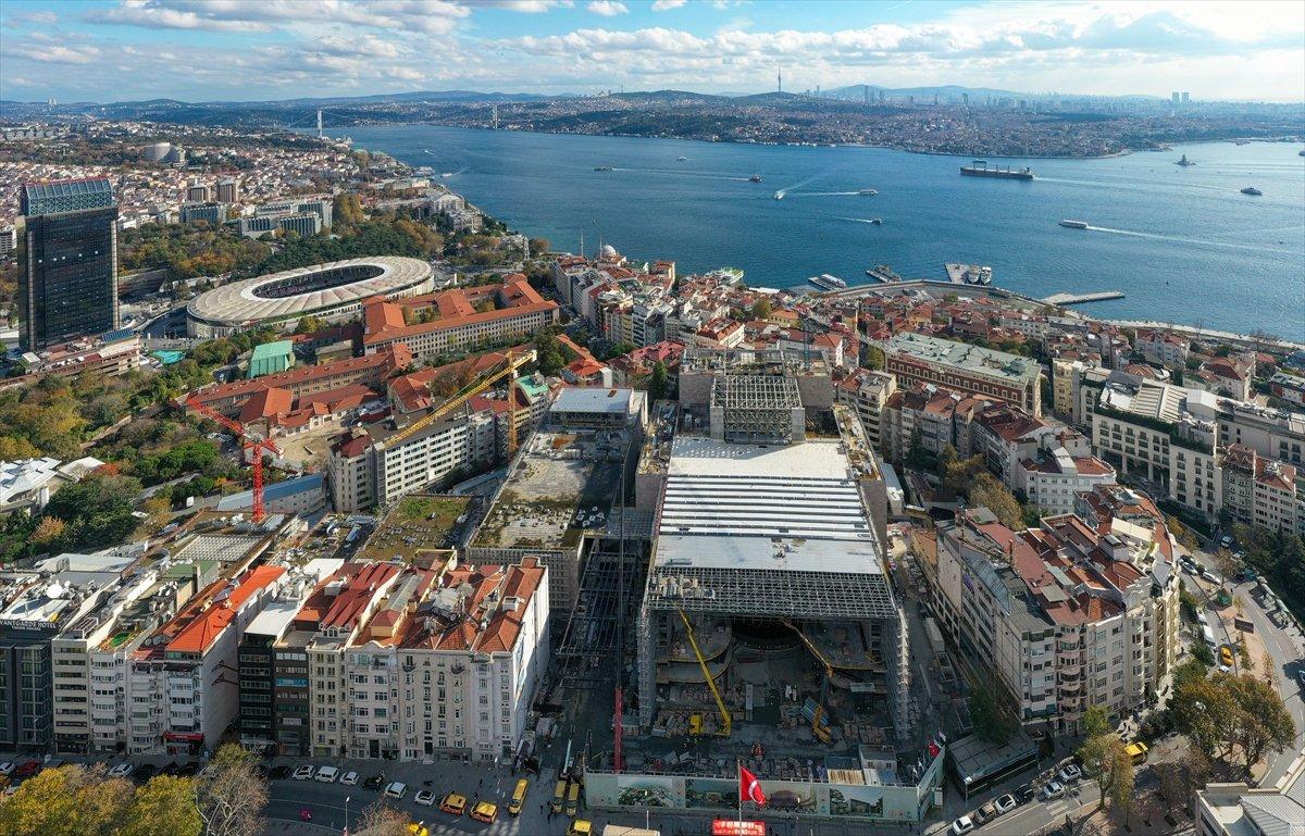 Yeni Atatürk Kültür Merkezi inşaatının yüzde 78 i tamamlandı #3