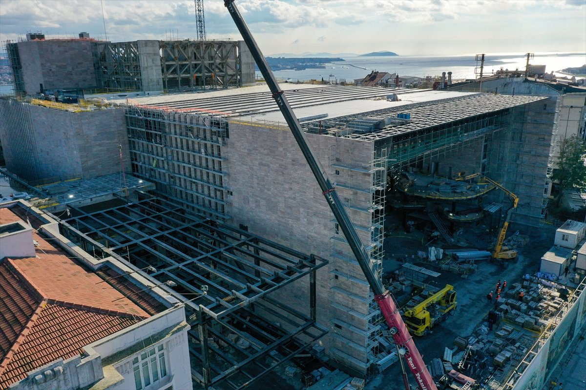 Yeni Atatürk Kültür Merkezi inşaatının yüzde 78 i tamamlandı #8