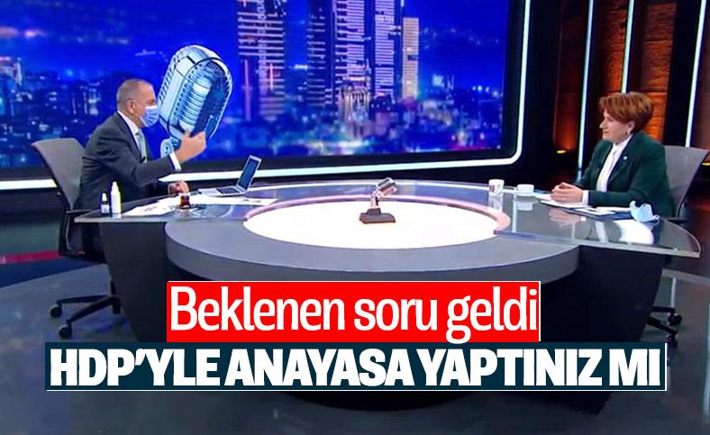 Meral Akşener, HDP ile anayasa çalışması iddialarına yanıt verdi