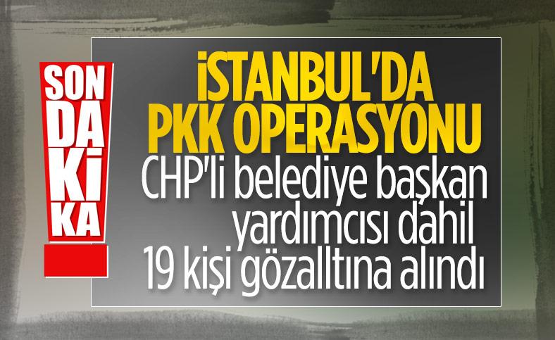 İstanbul'da terör örgütü PKK/KCK'ya yönelik operasyon