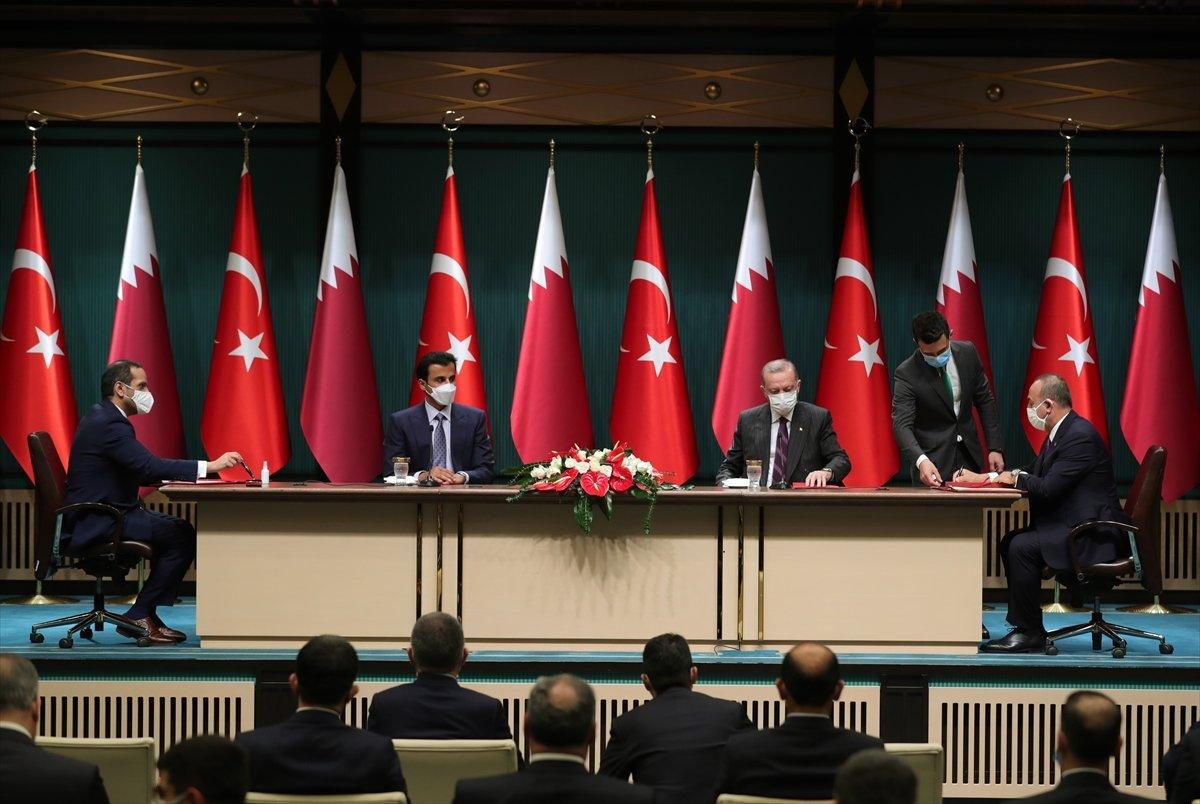Türkiye ile Katar arasında 10 yeni anlaşma imzalandı #4