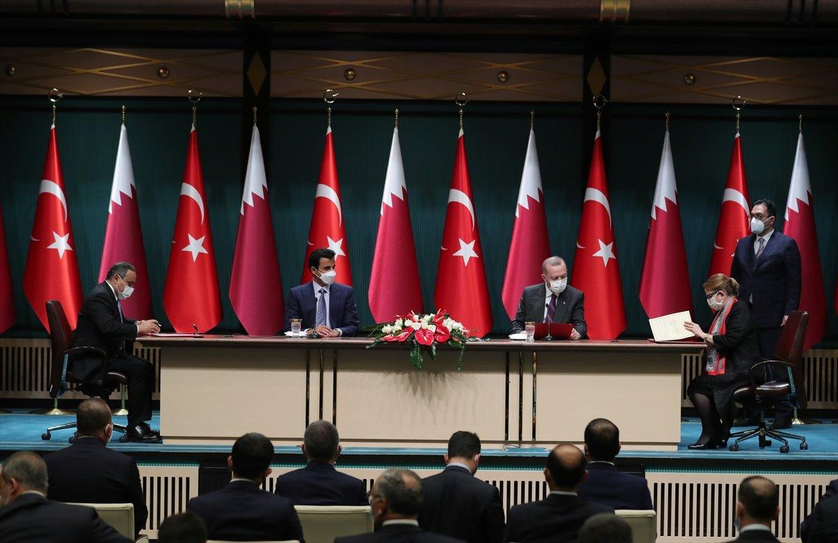 Türkiye ile Katar arasında 10 yeni anlaşma imzalandı #8
