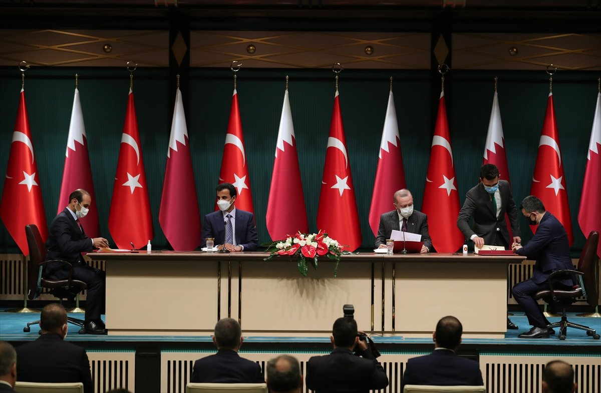 Türkiye ile Katar arasında 10 yeni anlaşma imzalandı #7