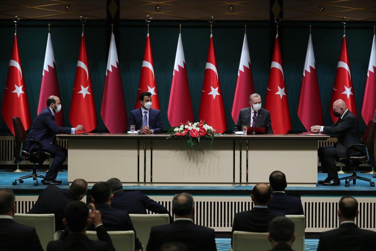 Türkiye ile Katar arasında 10 yeni anlaşma imzalandı #2
