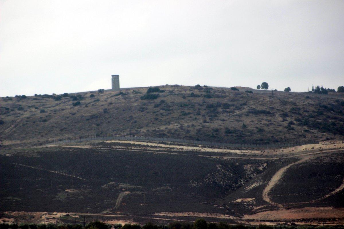Suriye sınırındaki duvarın yapımı tamamlandı #1