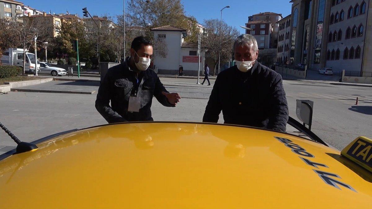 Kırıkkale de taksicilerin koronavirüs korkusu #2