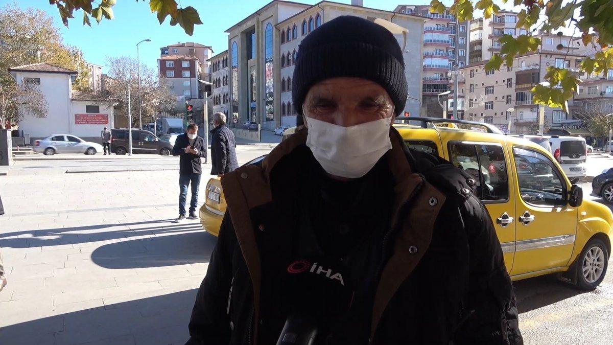 Kırıkkale de taksicilerin koronavirüs korkusu #1