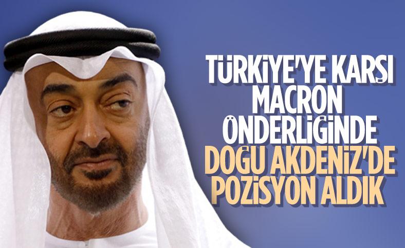 BAE Devlet Bakanı: Yunanistan, Mısır ve Fransa ile birlikte Türkiye'ye karşı pozisyon aldık