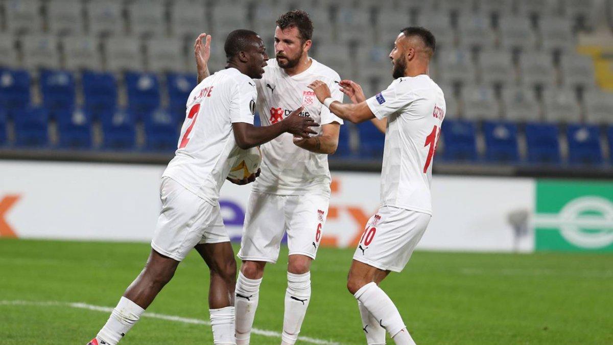 Sivasspor dan ülke puanına kritik katkı #2
