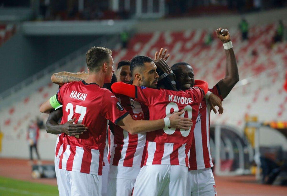 Sivasspor dan ülke puanına kritik katkı #1