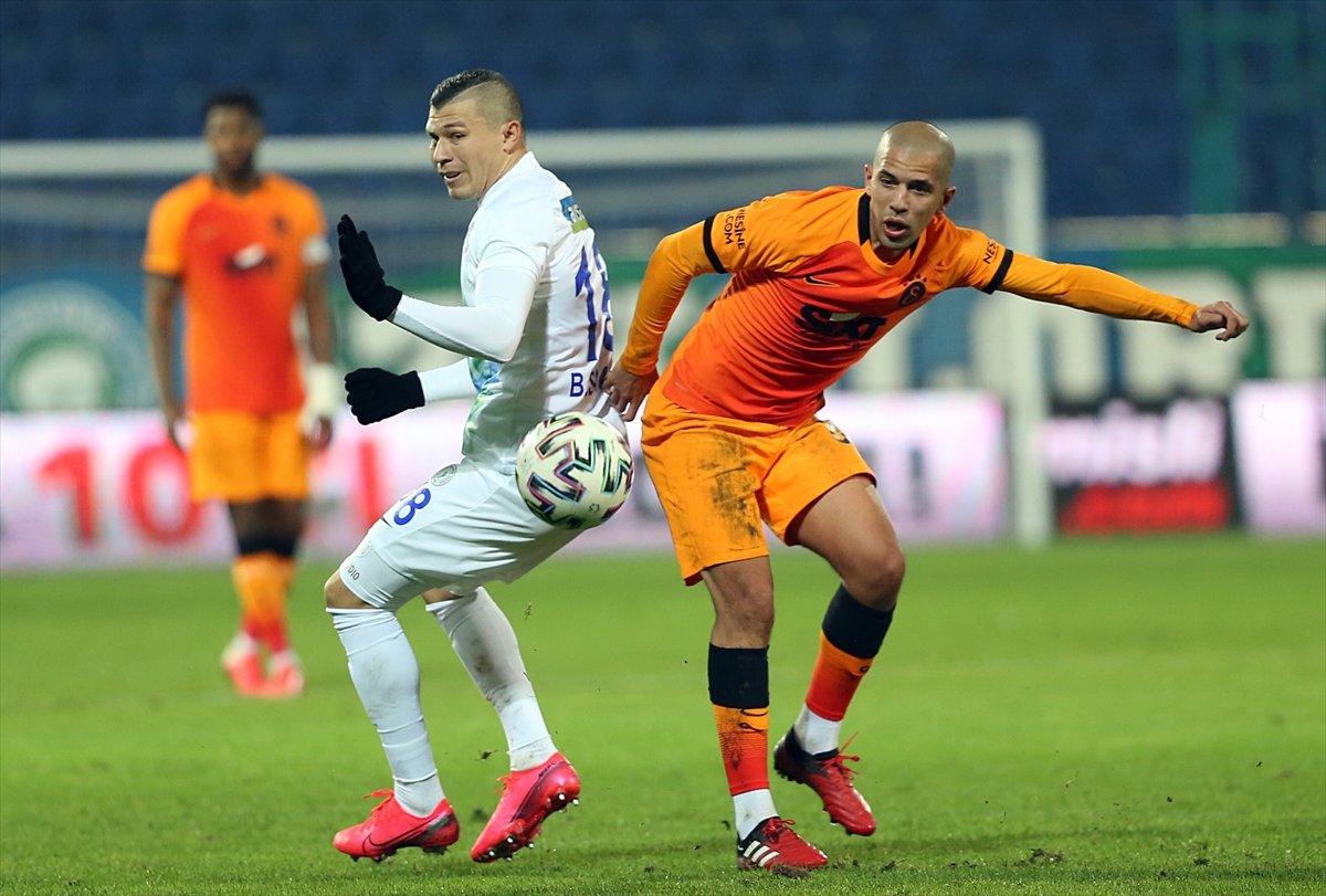 Diagne hat-trick yaptı Galatasaray, Rizespor u farklı yendi #2