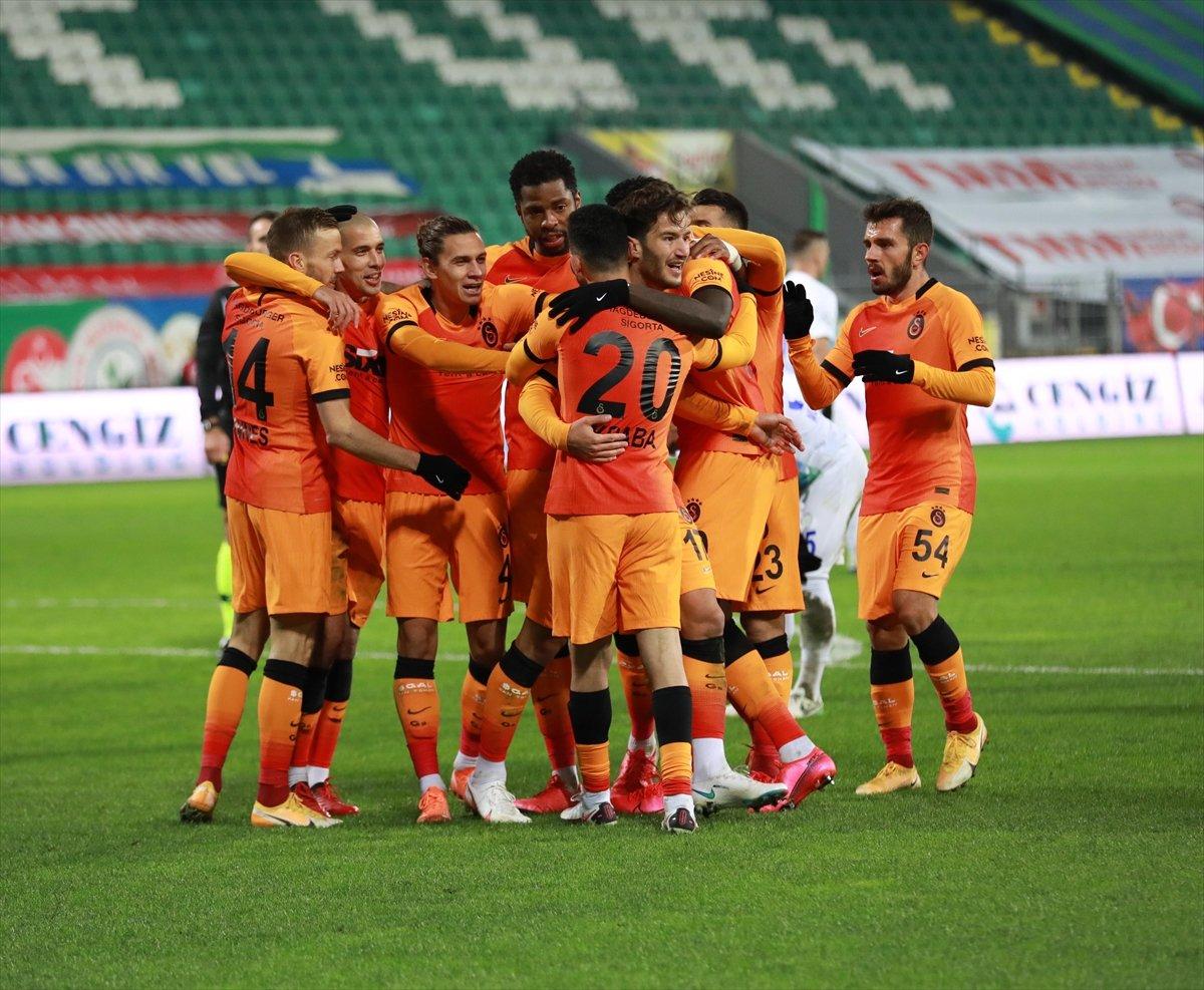 Diagne hat-trick yaptı Galatasaray, Rizespor u farklı yendi #3