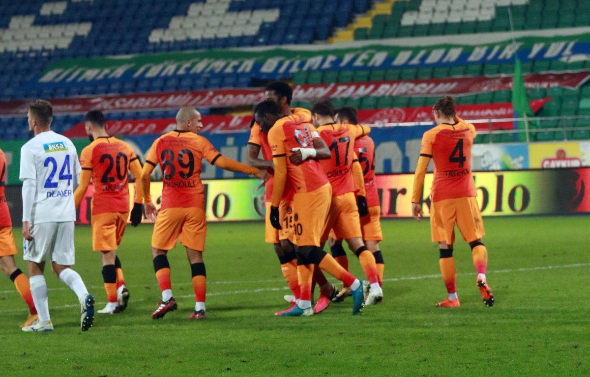 Diagne hat-trick yaptı Galatasaray, Rizespor u farklı yendi #4