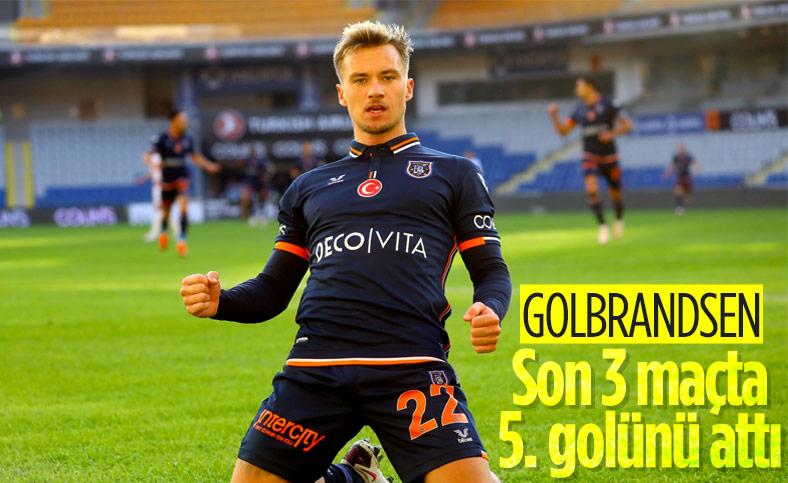 Gulbrandsen gollerine devam ediyor