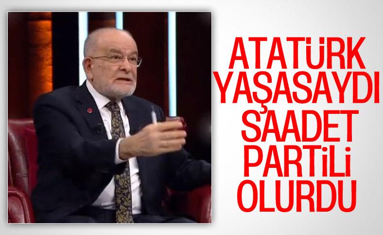 Temel Karamollaoğlu'na göre Atatürk yaşasaydı Milli Görüşçü olurdu