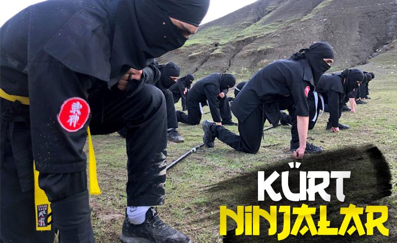 Reuters'ın objektifinden Kürt ninjalar