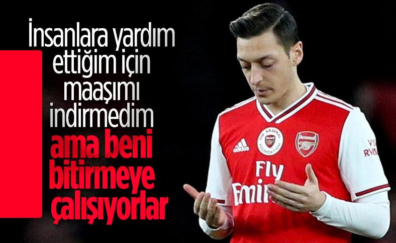 Mesut Özil: Ne zaman gideceğime ben karar veririm