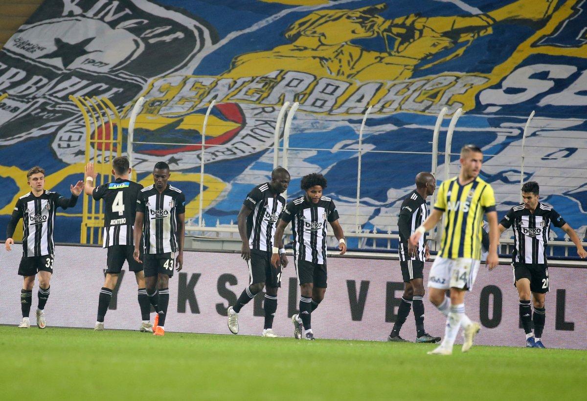 10 kişi kalan Beşiktaş, Fenerbahçe yi yendi #3