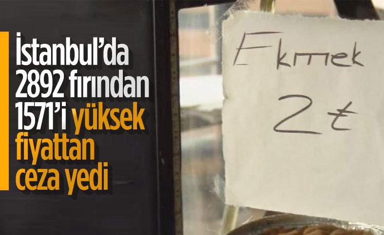 İstanbul'da fırınların yarısından fazlası, yüksek fiyattan ekmek satıyor