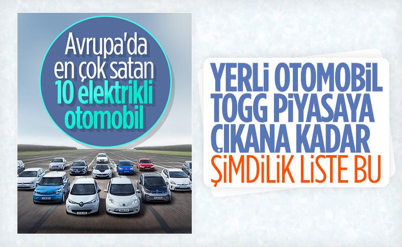 Avrupa'da ekimde en çok satan elektrikli otomobiller belli oldu