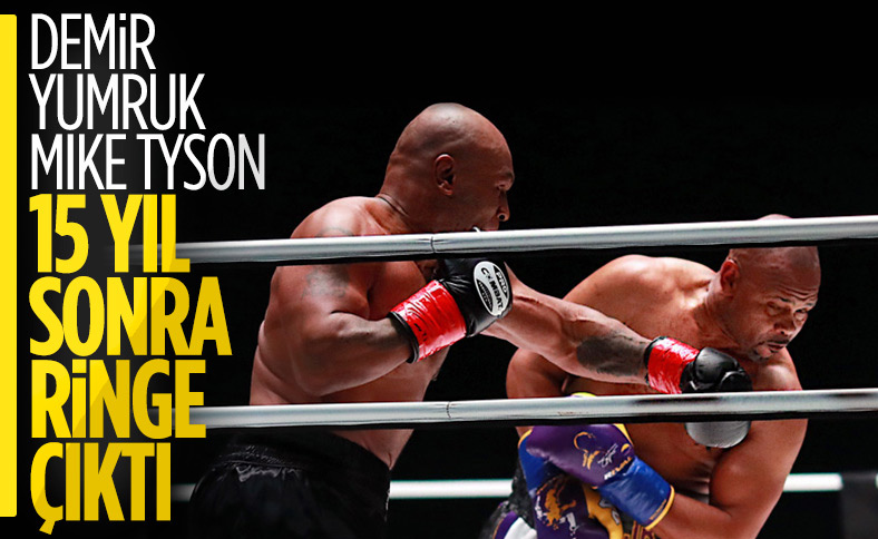 Mike Tyson - Roy Jones maçı berabere bitti
