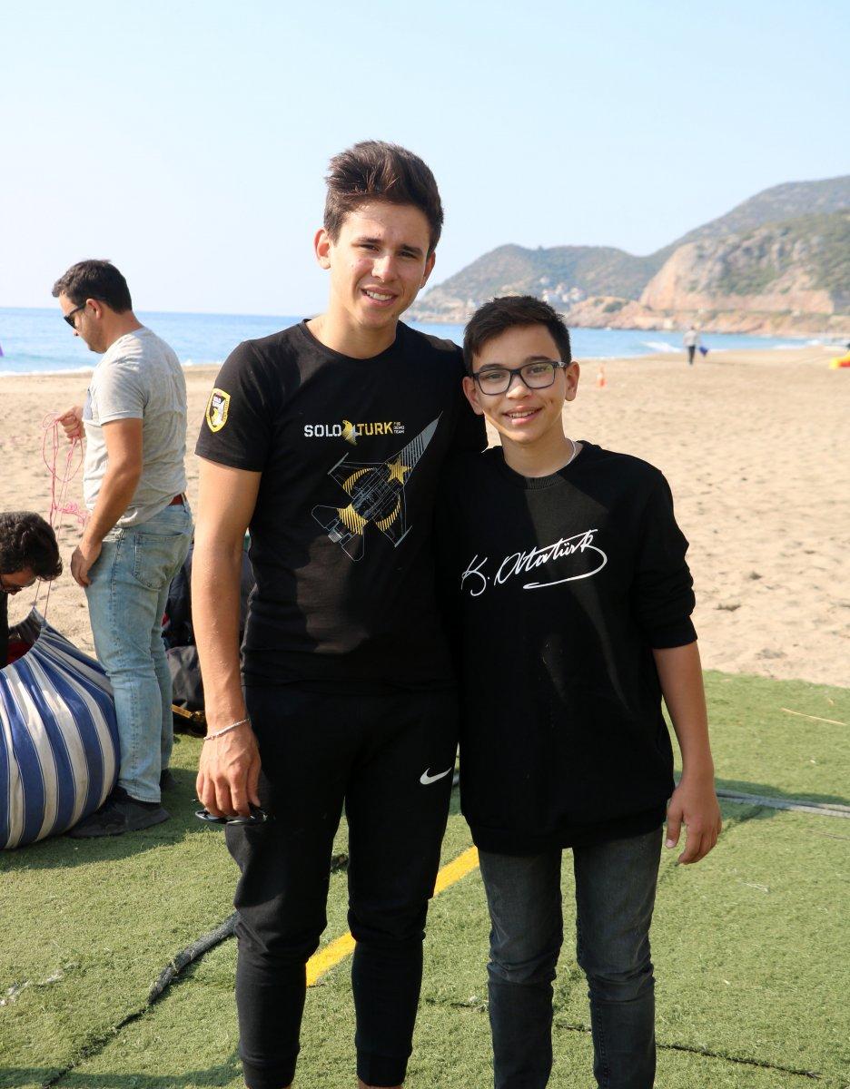 Antalya da en genç akrobasi pilotu destek bekliyor #4