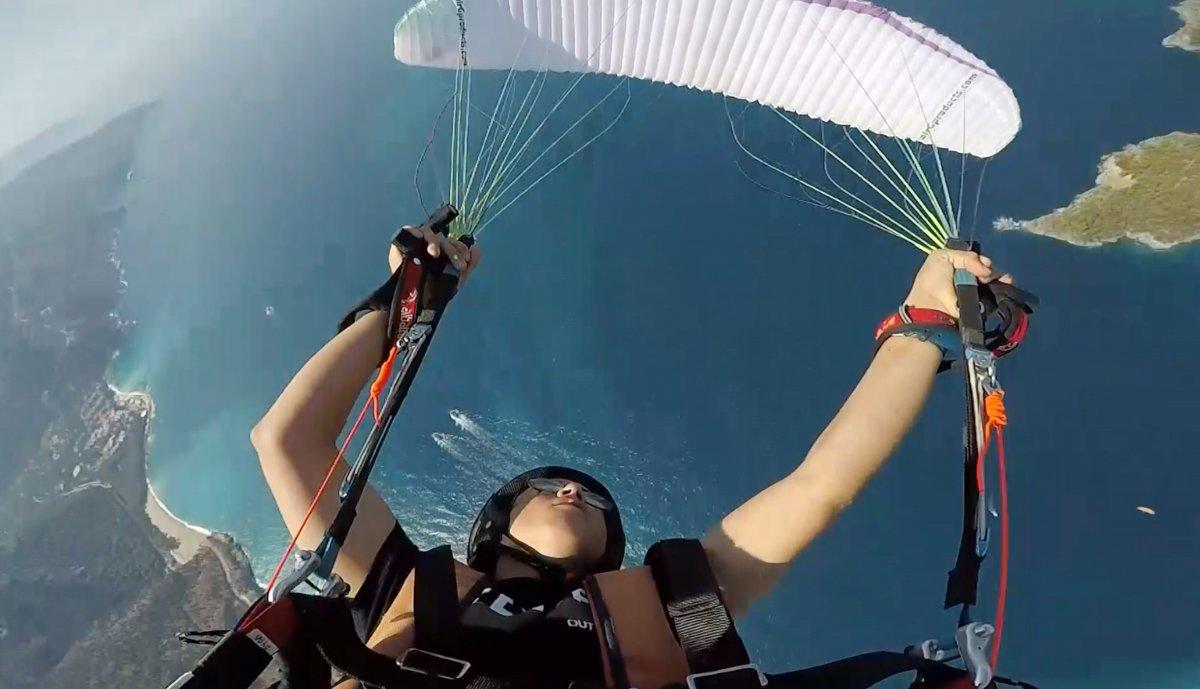Antalya da en genç akrobasi pilotu destek bekliyor #1