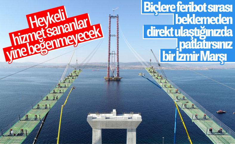 Çanakkale Köprüsü'nün 318 metrelik kuleleri