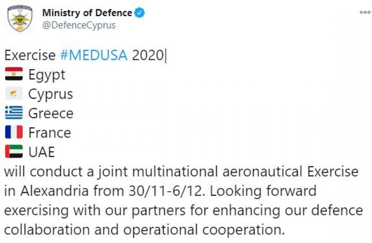 5 ülkeden Akdeniz de ortak askeri tatbikat #1