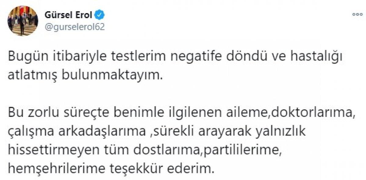 Koronavirüse yakalanan CHP Elazığ Milletvekili Gürsel Erol için özel uçak gönderildi #2