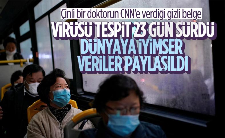 Çin'in koronavirüs belgeleri ortaya çıktı