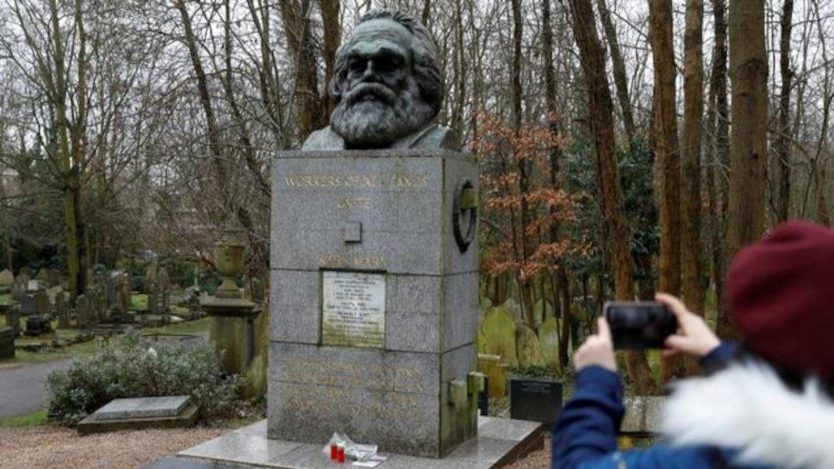 Marx ın mezarı turizme açılıyor #1