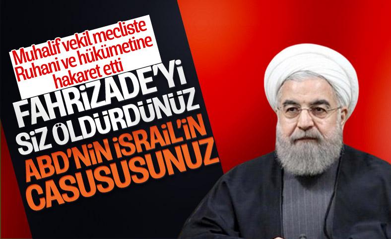 İranlı milletvekili, Cumhurbaşkanı Ruhani'yi casuslukla suçladı