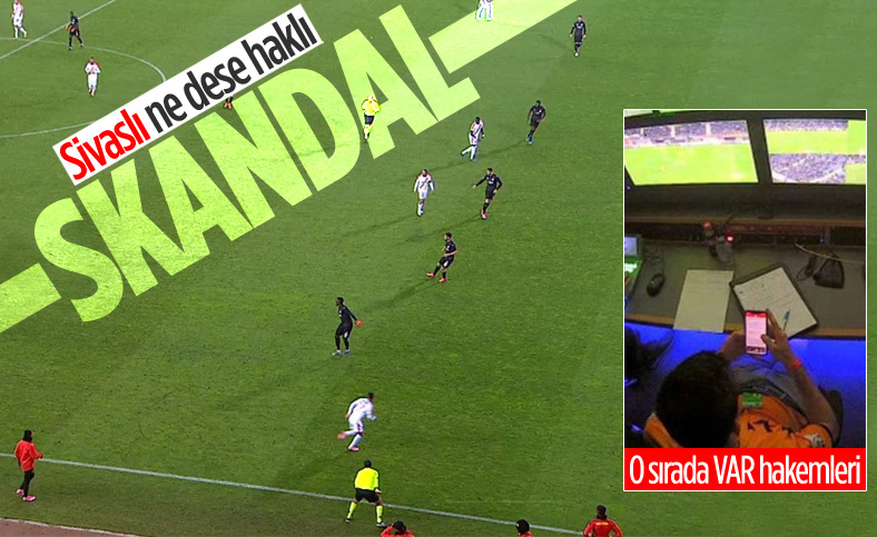 Sivasspor maçında skandal ofsayt kararı