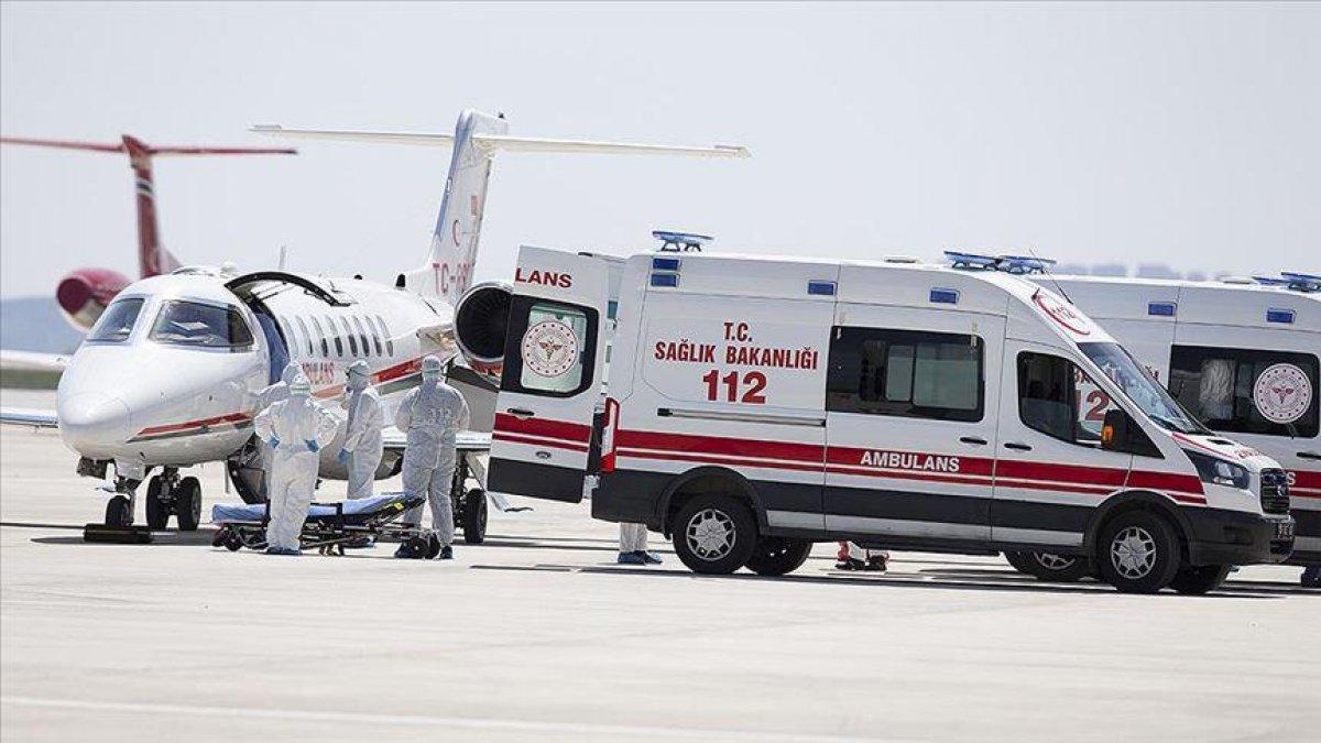 Koronavirüse yakalanan CHP Elazığ Milletvekili Gürsel Erol için özel uçak gönderildi #1