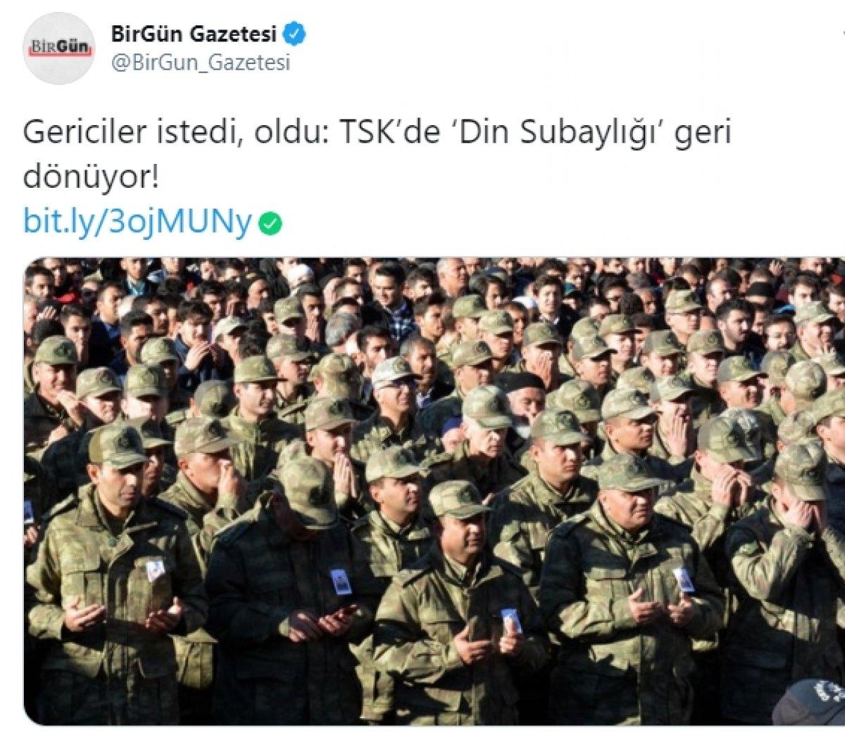 TSK'da Din İşleri Subaylığı geri dönüyor #2
