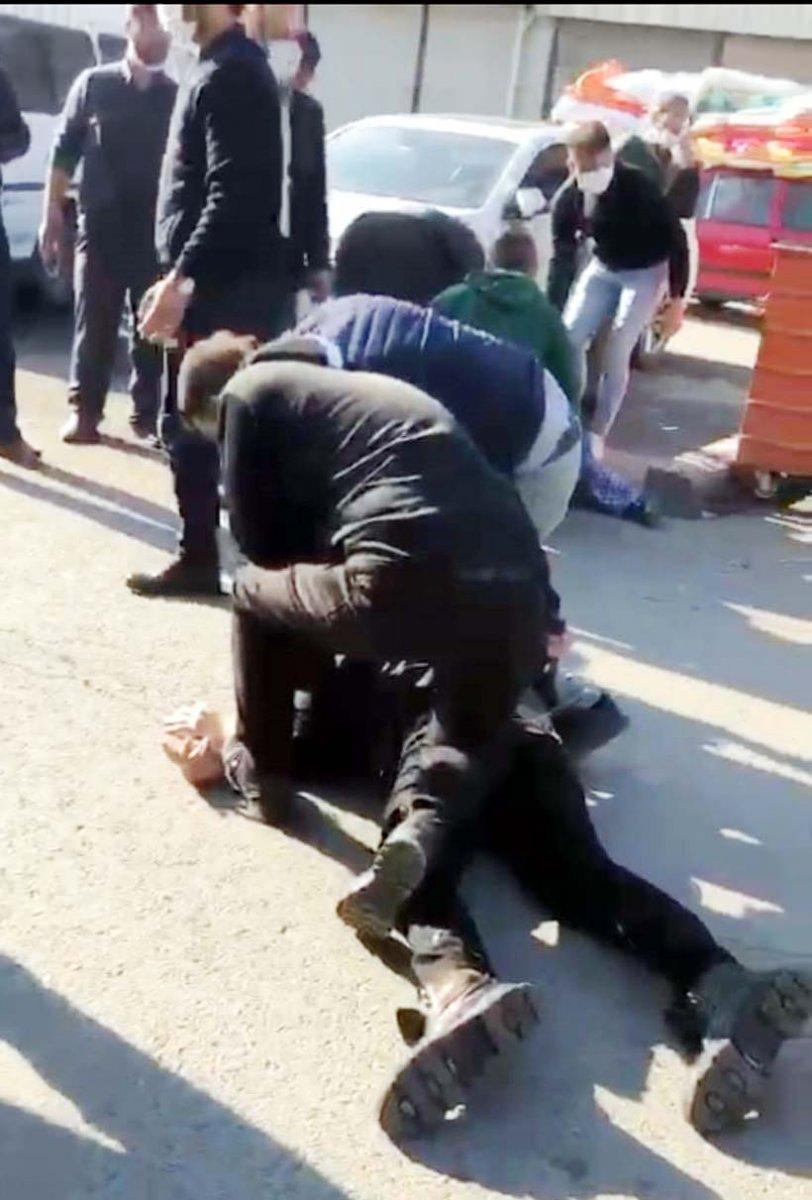 Kahramanmaraş ta ihbara giden polise silahlı saldırı #4