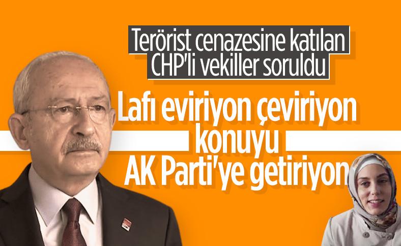 Terörist cenazesine katılan CHP'liler Kemal Kılıçdaroğlu'na soruldu