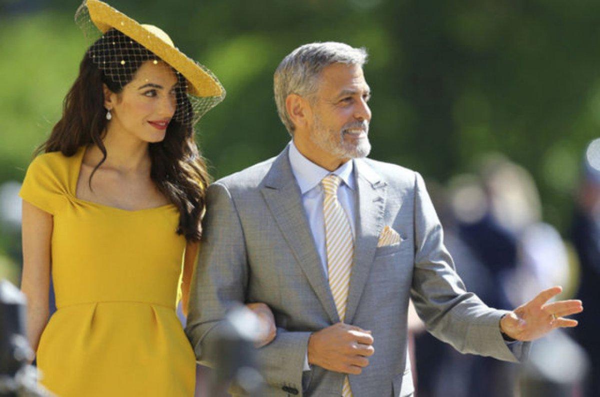 George Clooney: Eşimle hiç tartışmıyoruz #1