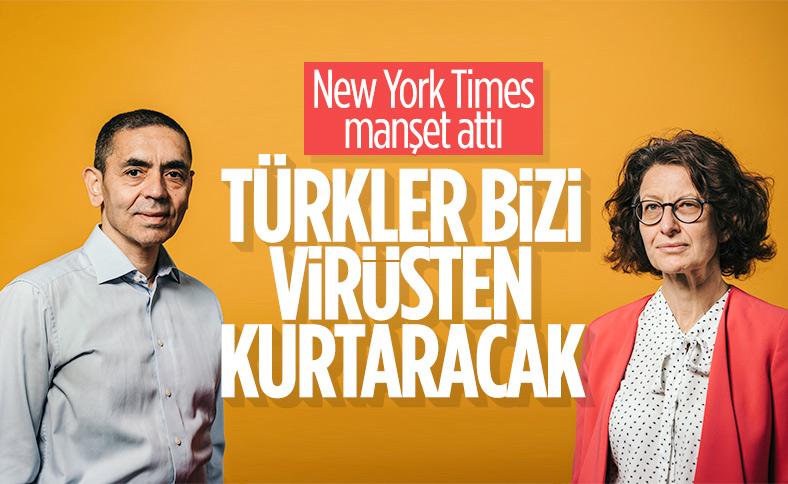 NY Times: Türk çift, bizi virüsten kurtarabilir