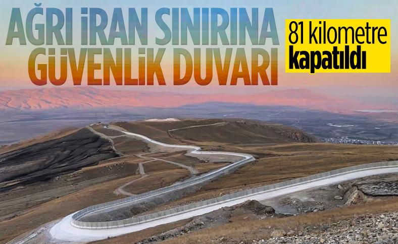 Süleyman Soylu: 81 kilometrelik Güvenlik Duvarı Projesi sona erdi