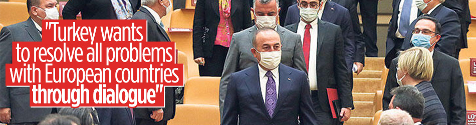 Turkish FM: We want to resolve all problems via dialogue