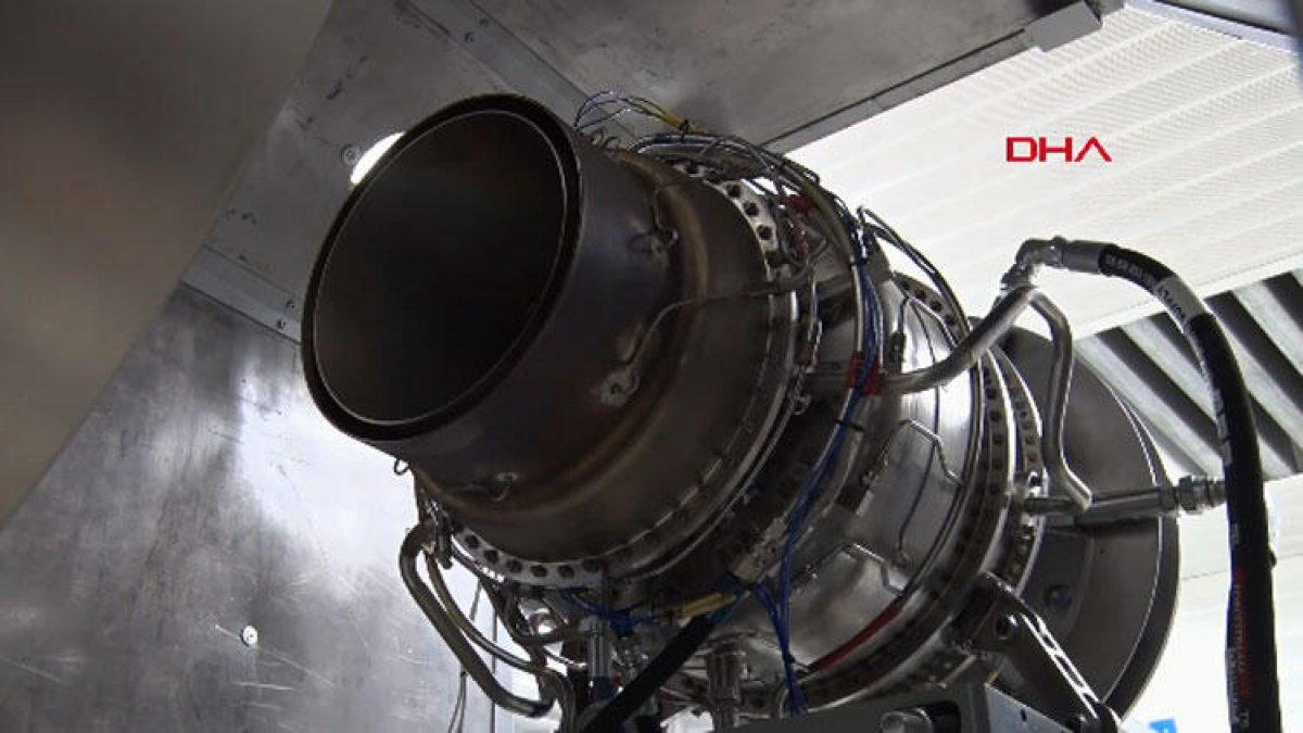İlk milli helikopter motorunun testi yapıldı #1