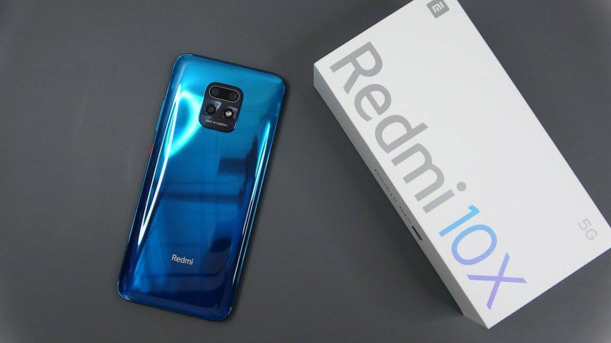 redmi 10x 5g 822